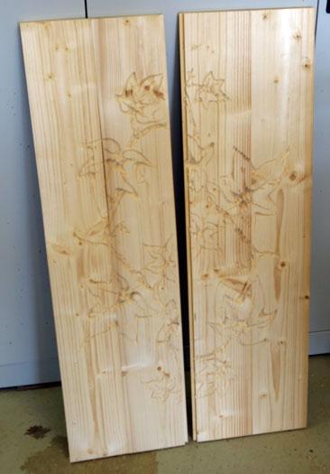 Efeu auf der CNC fräsen 3