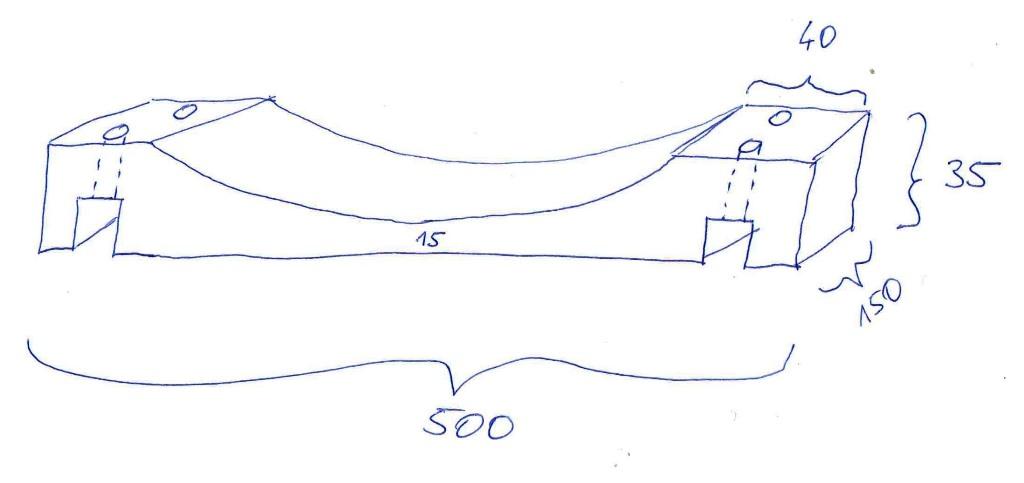 Schaukelsitz - Skizze