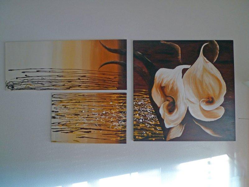 Blumen-3-teilig-ca.184x80