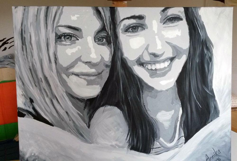 Annika und Lena