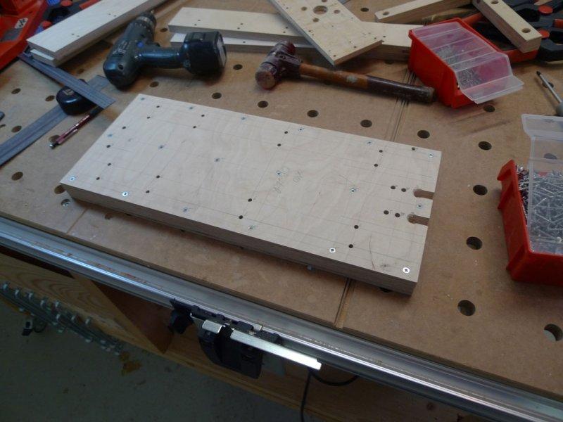 X-Rahmen Grundplatte