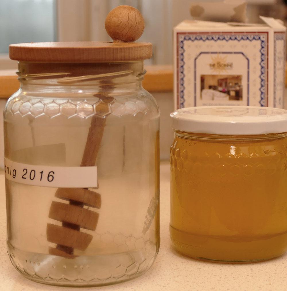 Honig-Dipper mit Deckel