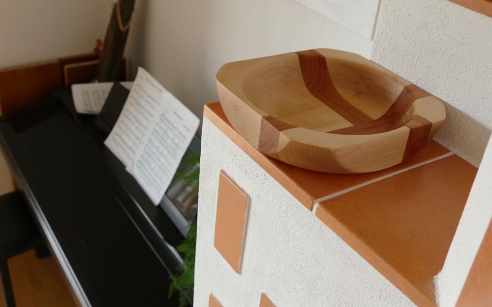 Weiteres gedrechselte Teller, konstruiert mithilfe des Goldenen Schnittes