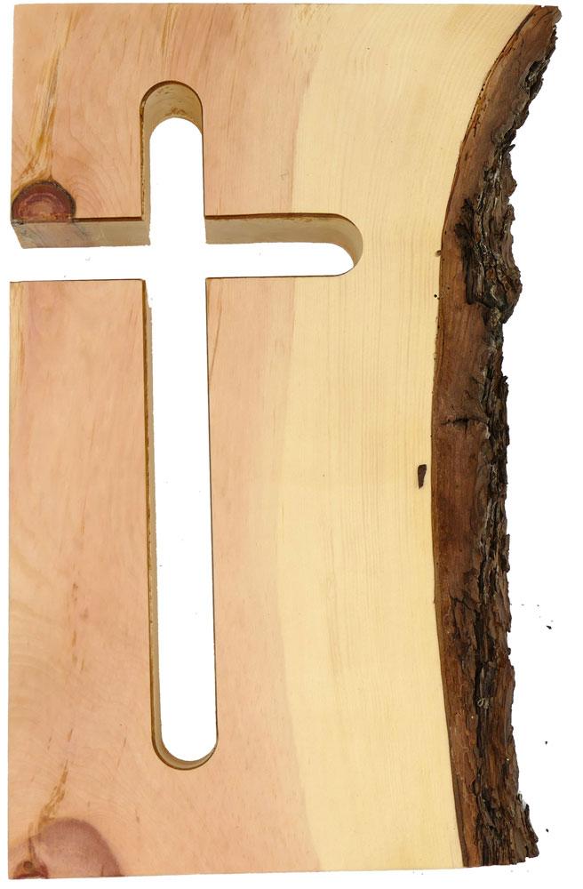 Gefrästes Kreuz