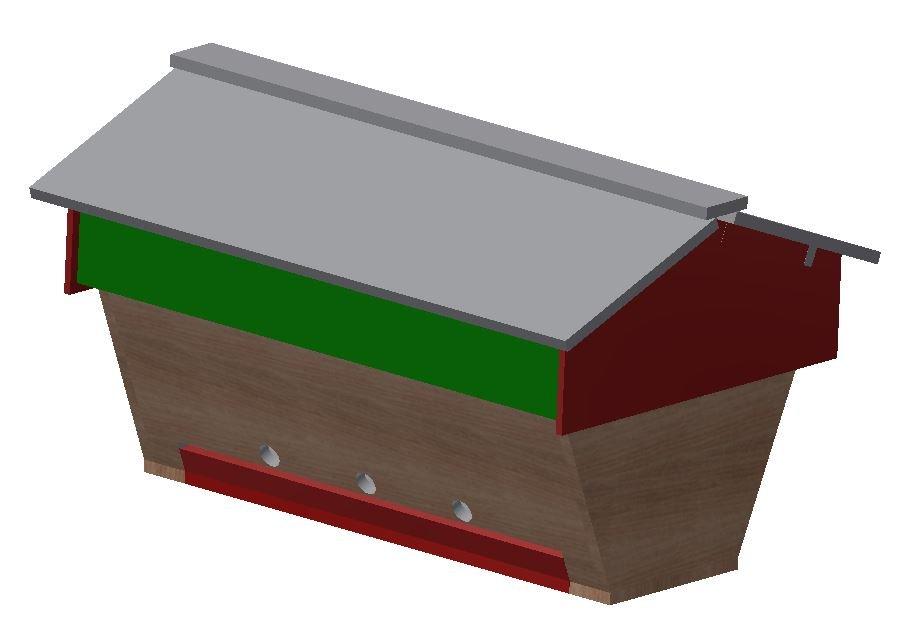 Oberträgerbeute (Top Hive Bar)