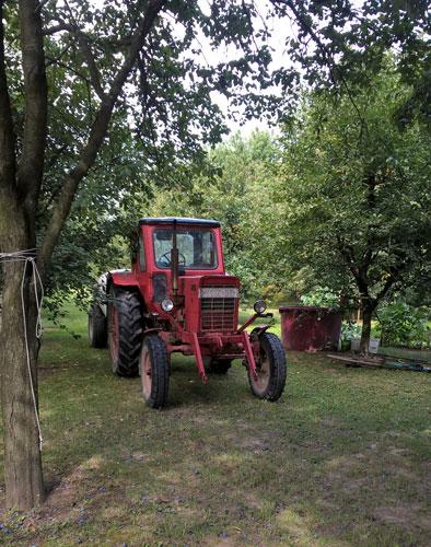 Moderne Traktorunterstützung