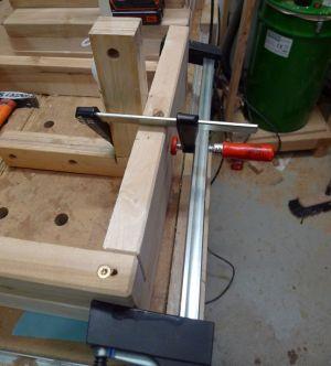 Variante 1: Holz wird ausgerichtet