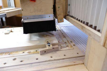Rundung mit CNC fräsen