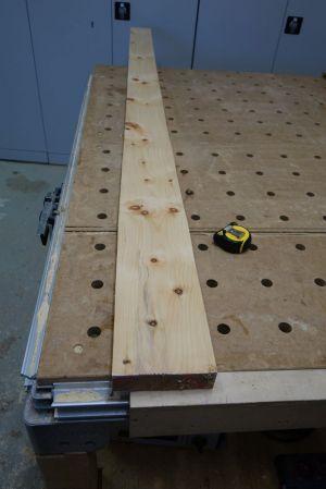 40cm starke Zirbe als Vormaterial