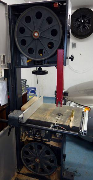 6mm breites Sägeband nach dem Wechsel