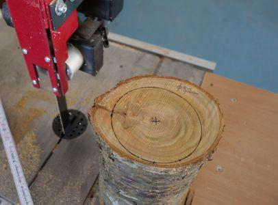 Größtmögliche Durchmesser mit dem Kern als Mittelpunkt