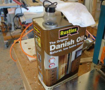 Danish Oil  (Lebensmittelecht) zum Einölen verwenden