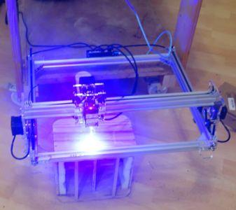 Noch schnell eine Laserbeschriftung drauf