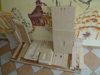Solidis: Fertiger Holzstapel