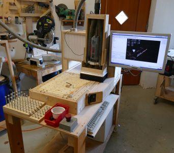 Solidis: Eine selbstgebaute CNC Fräse (Computerunterstützte Fräsmaschine)
