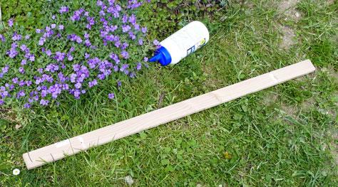 Wasserfester D3 Leim zur verbesserten Stabilität für die Querstrebe