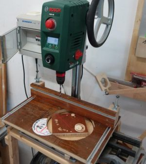 sBohrtischständer-Runde-Unterlage-Zusammenbau--2